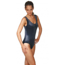 Fitness-Dress ohne Arm, Polyamid/Elasthan (Lycra) XL schwarz